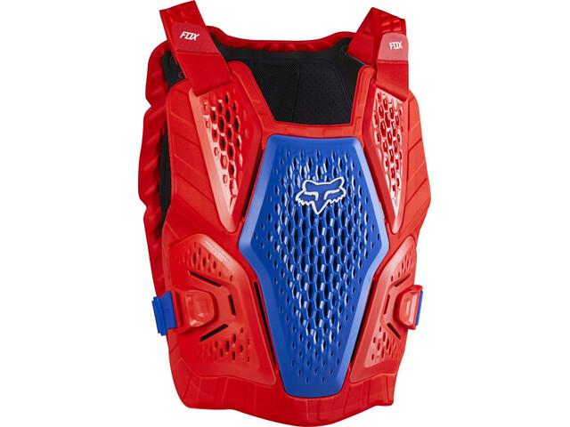 Fox Raceframe Impact Borstbeschermer Heren, blue/red
